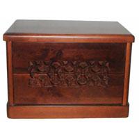 Деревянный комод 3 ящика
