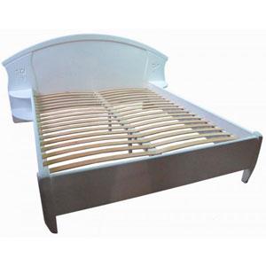 Кровать Афина с резьбой