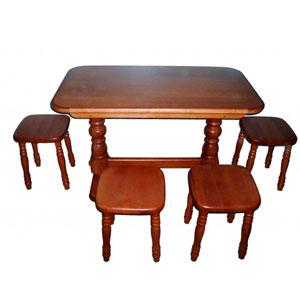 Деревянный стол обеденный массив